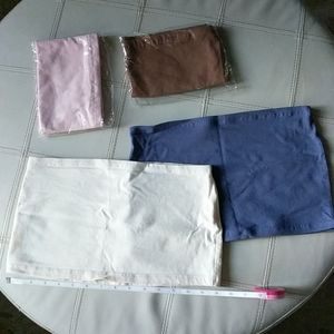 Lot of 4 Shirt Layering Extenders - 2 Brand New!